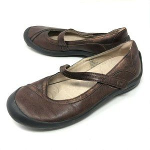 J-41 Jeep ASTER Brown Mary Jane Comfort Shoes